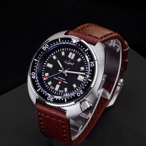 6105-8110 NH35A mechnical diving watch SEIKO turtle MODIFIED