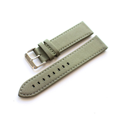 22mm Canvas strap Leather lining