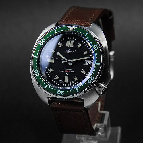 Submariner GREEN BEZEL man watches NH35A mechnical movement