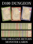 DRAGONS RETURN MONSTER CARDS