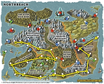 Northreach Quest Map
