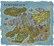 V2.1 D100 Dungeon Campaign Map NORTHREAC