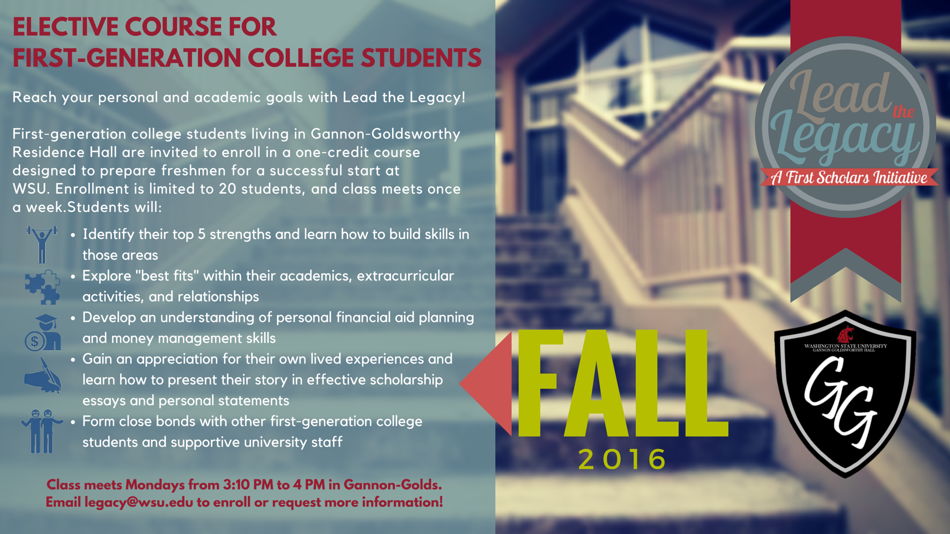 elective course for first generation college students gannon elective course for first generation college students gannon goldsworthy residence hall