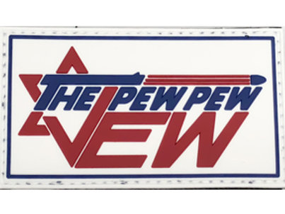 The Pew Pew Jew Patch