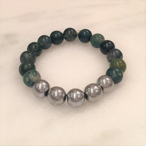 Camo (with hematite beads)