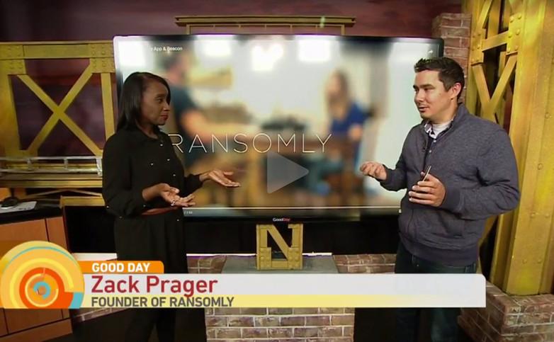 Zack Prager on the Good Day show