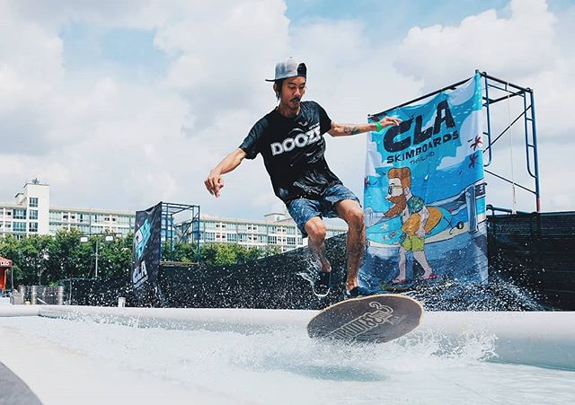 Extremely to present our DOOZE Skimboard team.🏄‍♂️😎_Here is Mr. Pond, the winner of Hippie Jump Contest, Thailand. Whatta cool flip bro.jpg