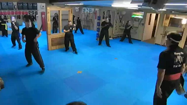 Kung Fu class sample