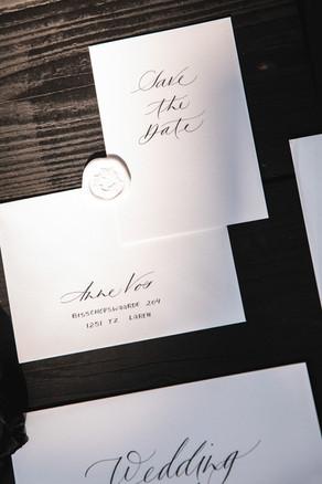 Stationary met hoogwaardige kalligrafie
