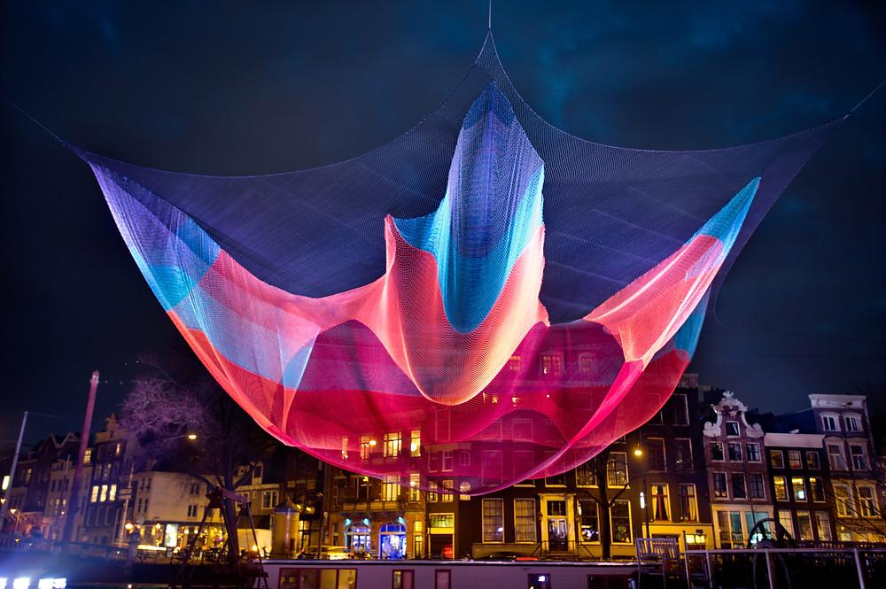 light festival Amsterdam Bnb vondel