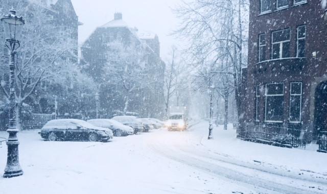 Snowy Amsterdam Vondelpark Bnb vondel