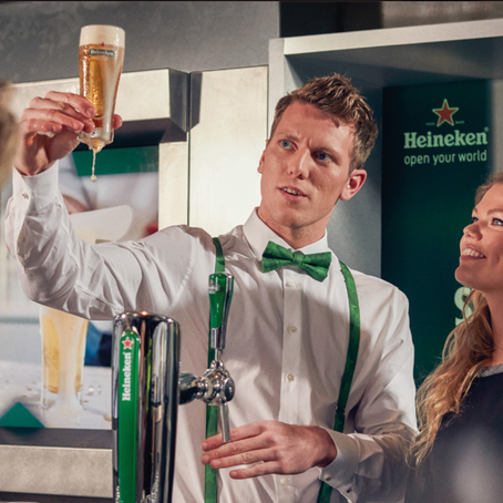 Heineken. An unique experience.