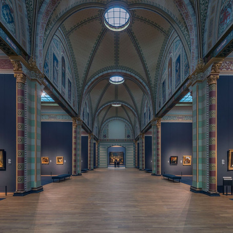 The famous Rijksmuseum