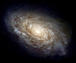 Photo of a galaxy
