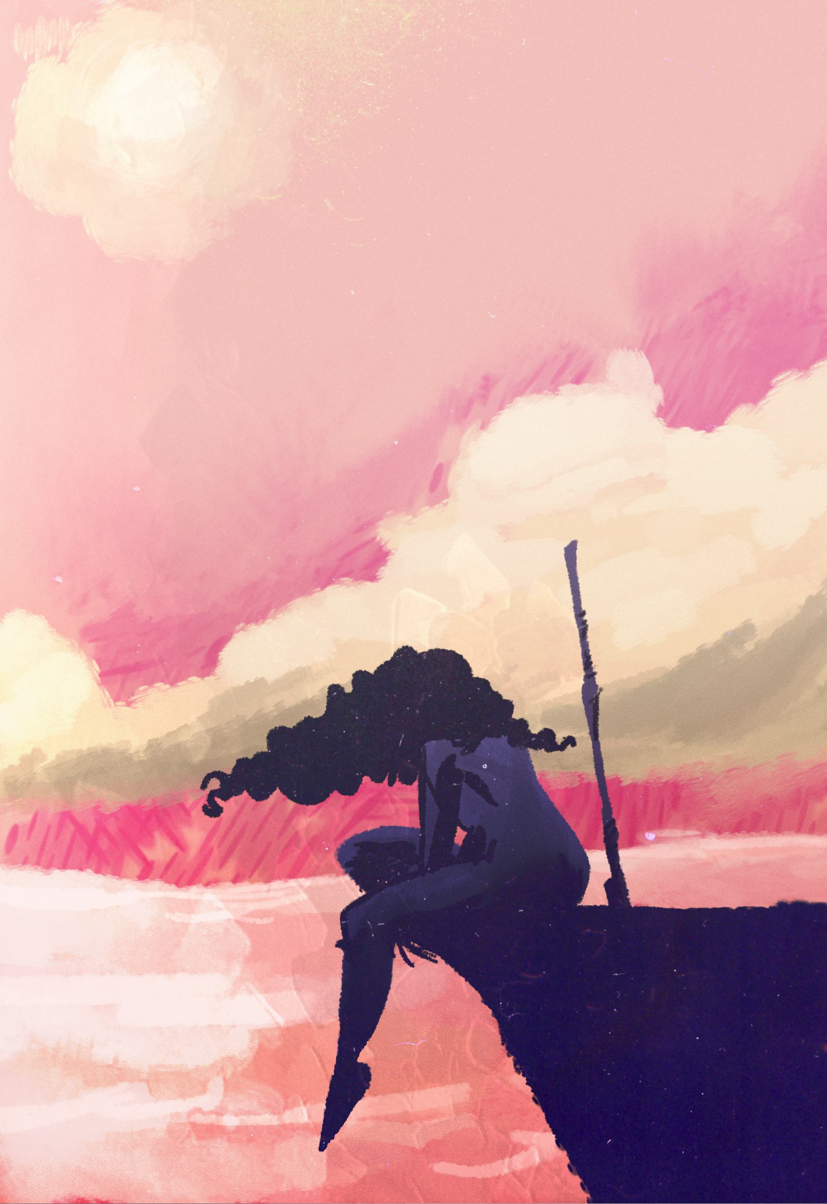 zaranna sunset retouch