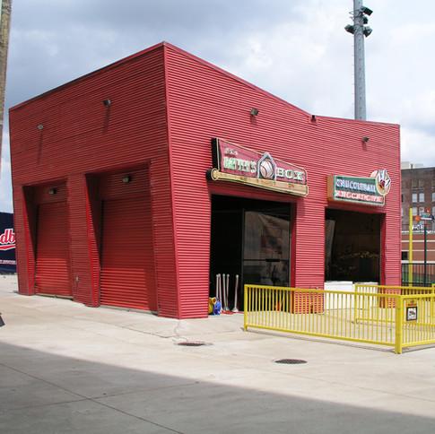 Arcade at Red Birds Stadium, Memphis