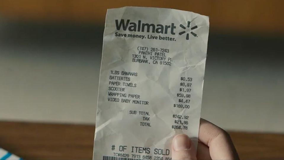 The Receipt - Walmart