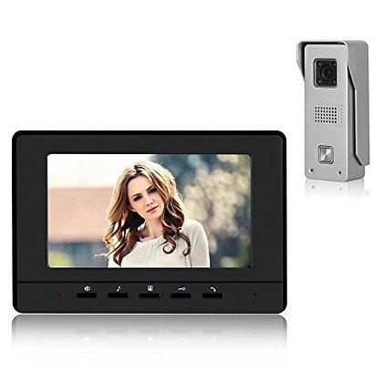 "Video Door Bell Intercom 7"" Monitor"