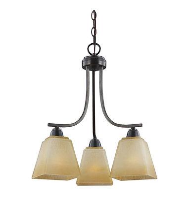 Seagull 3213003-845  bronze w creme glass