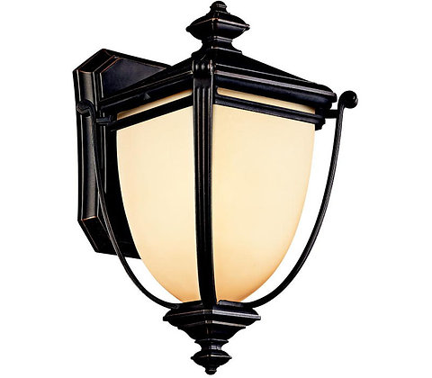 Kichler 49100RZ Warner Park Outdoor Wall Light