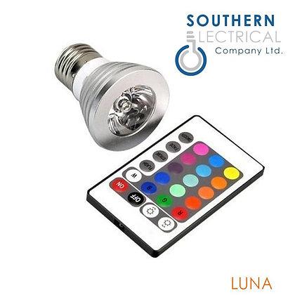 Luna E27 5W RGB 60 degrees
