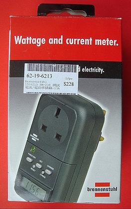 Brennenstuhl Wattage & Current Meter