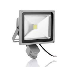LED FloodLight 30W With Motion Detection Daylight