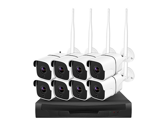 Wifi Camera Kit 1080P HD 8 Cameras 105PK
