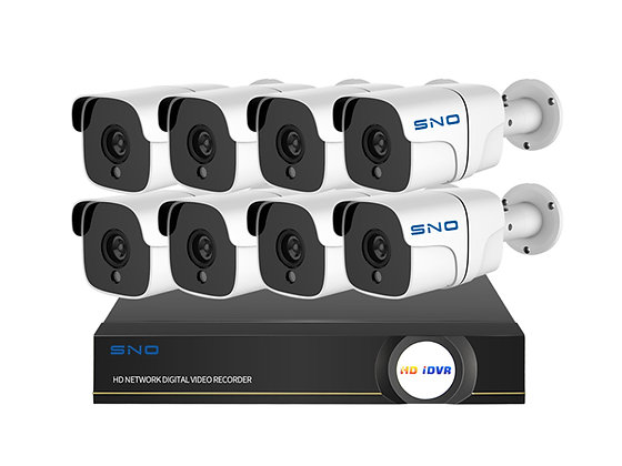 Pro Series POE NVR Camera Kit HD 8 Cameras 105SK