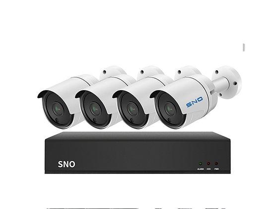 POE NVR KIT 4 Cameras 1080P HD 4022PF