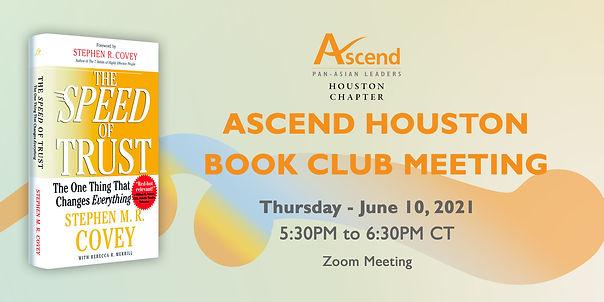 Ascend Houston  Book Club Kick Off-banne