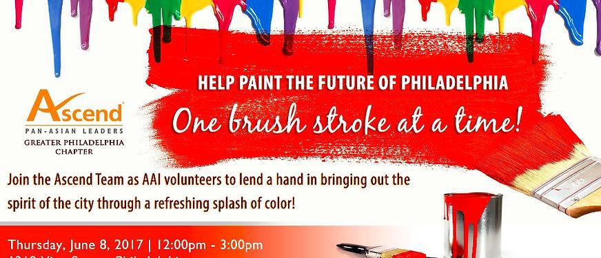 Help paint the future of philadelphia ba