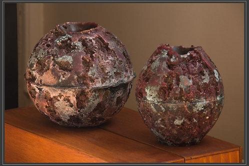 Bougie boule volcan Ø 10 cm / 100 g