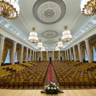 Реставрация мебели Актового зала Главного здания МГУ имени М.В. Ломоносова