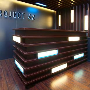 Офис компании  Project 42