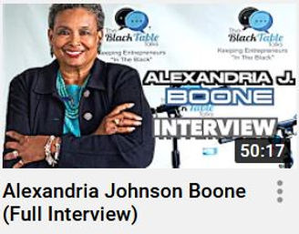A Boone Interview - The Black Table Talk