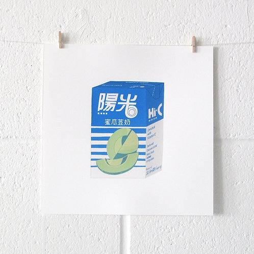 SUNSHINE HONEYDEW SCREEN PRINT