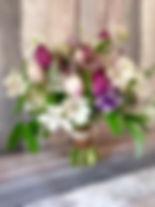 spring bridal bouquet
