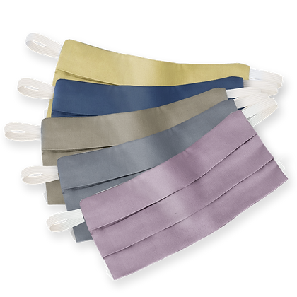 Pleated Masque | 5-Pack | Antimicrobial Personal Masks