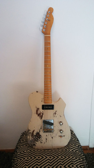 Valhalla '52 T-Bone Relic 'The Snowman'