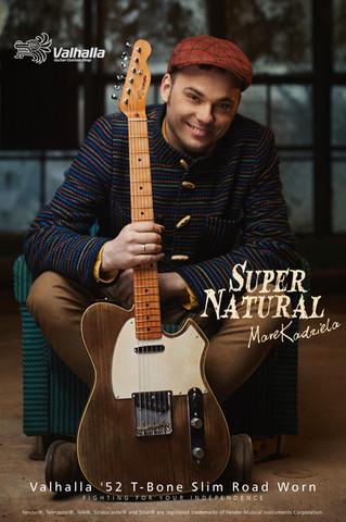 Valhalla '52 T-Bone Slim Road Worn 'Super Natural'