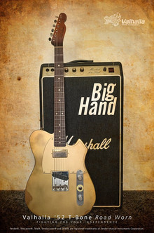 Valhalla '52 T-Bone Road Worn 'Big Hand'