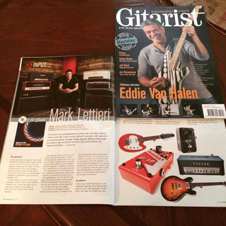 Mark in  'Gitarist Magazine'