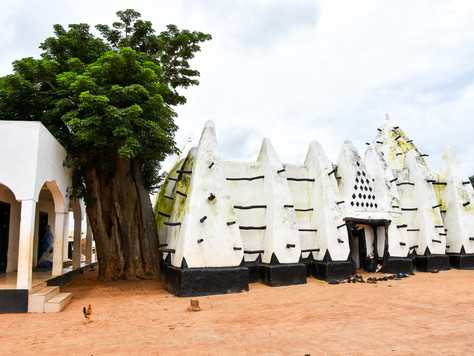 Ghana's oldest and most iconic mosque - Larabanga Mosque