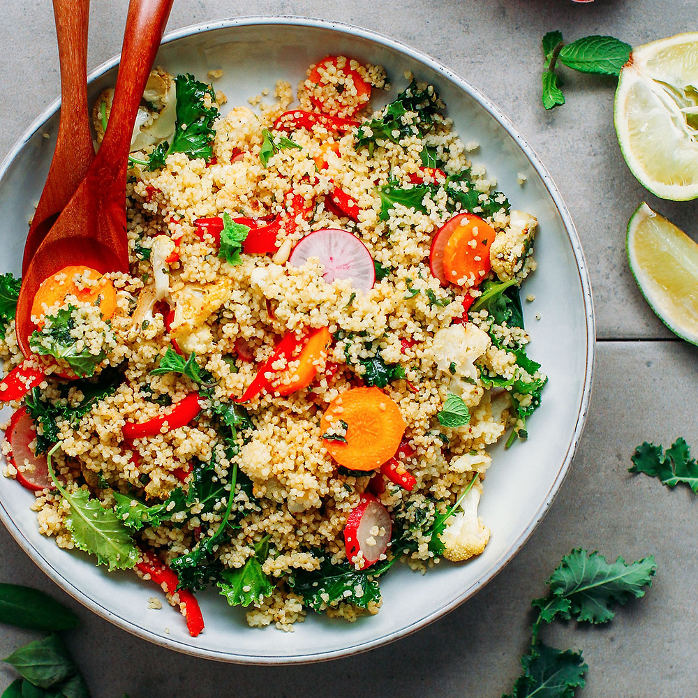 Food in Morocco Couscous