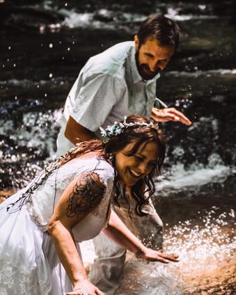 Chris & Christina's Waterfall Vow Renewal