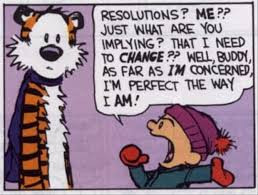 I learn a lot from my students, and this January, I learned from a high school student why I never seem to keep New Year's Resolutions - most of us don't! Here's what works: Ditch the 'resolution' idea and instead, decide what incremental habit changes you want to embrace. Make them manageable and bite-sized. Choose just one or two at a time - that's plenty! Journal about your progress (and your setbacks). And finally, if you prefer a seasonal change, choose spring - it's warm, it's a time of rebirth, and we all have more energy to stick-to-our-commitments than we do when it's freezing cold outside!