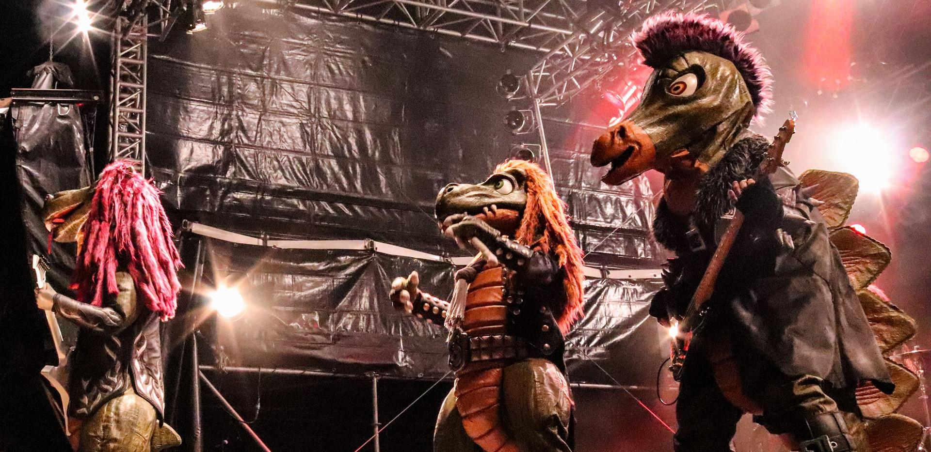 Riffi Raffi, Mr. Heavysaurus, Muffi Puffi