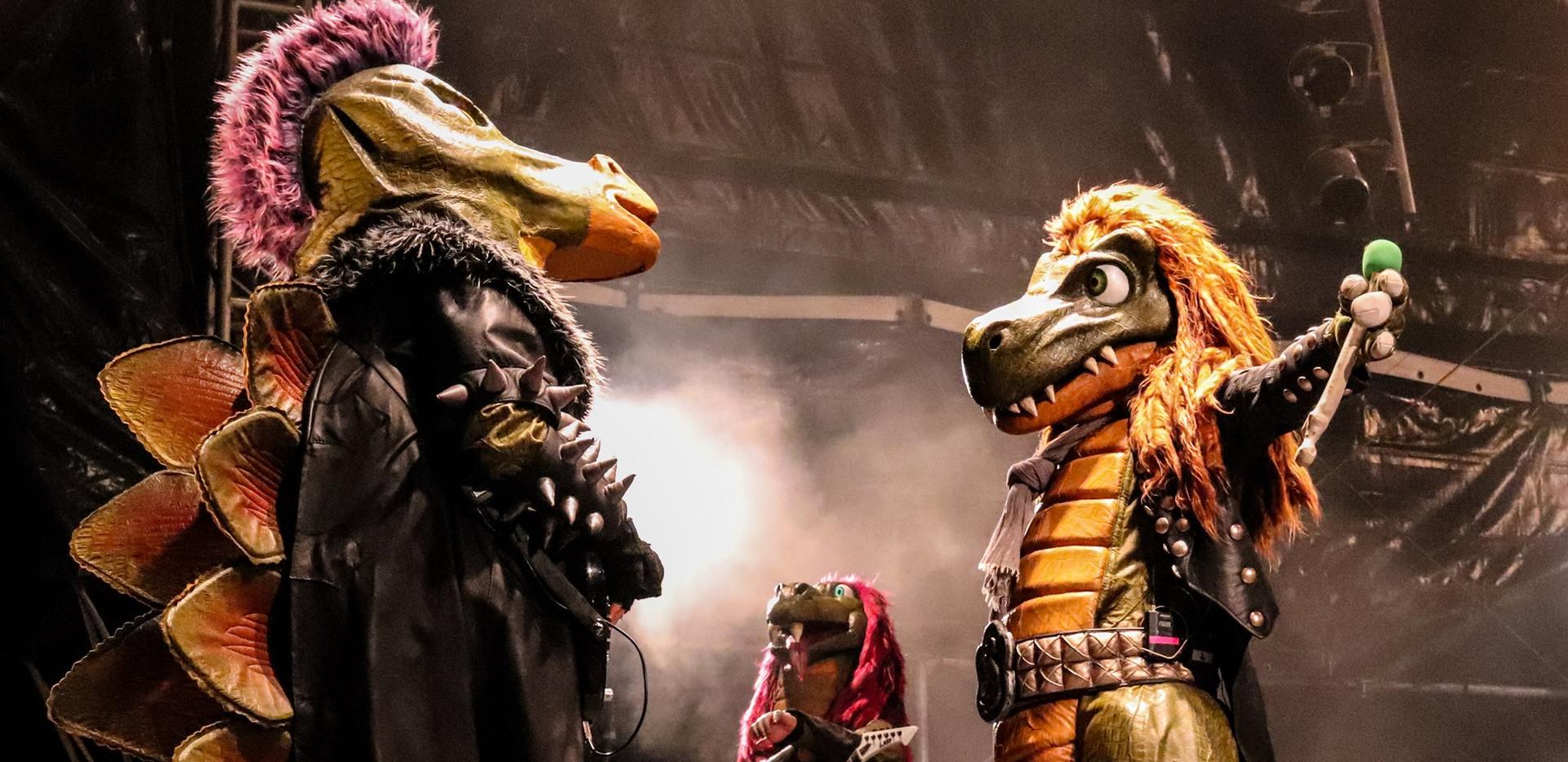 Mr. Heavysaurus und Muffi Puffi