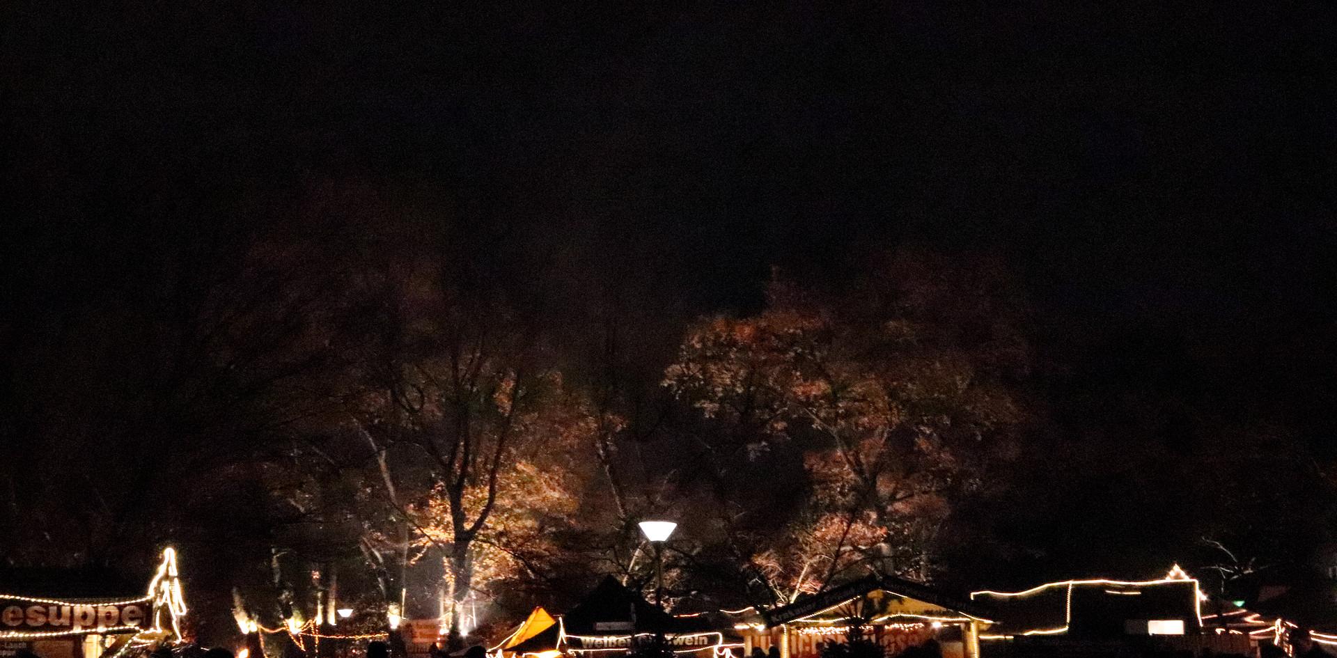 Lichteffekte auf dem PLWM 2018 Dortmund